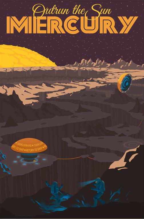 Emoção: Fugindo do sol em Mercúrio