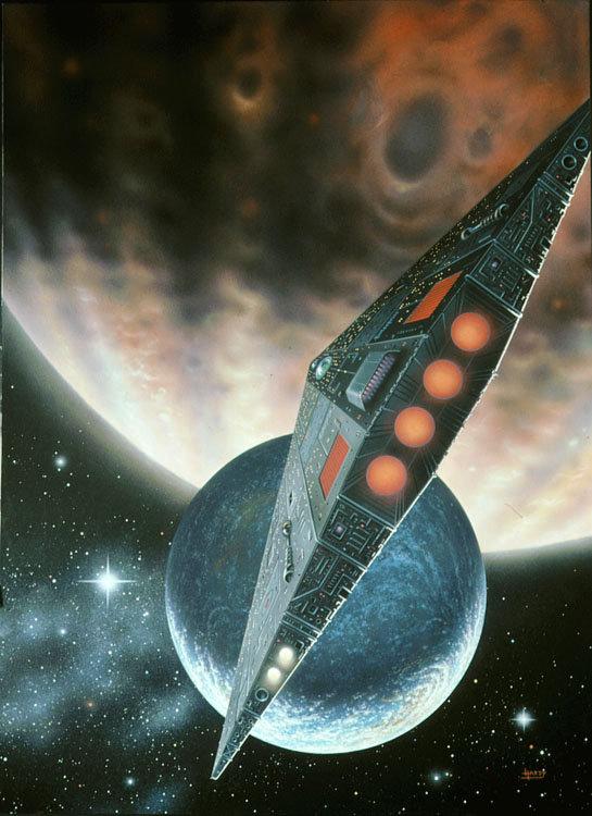Chegada: A nave se aproxima de um mundo distante