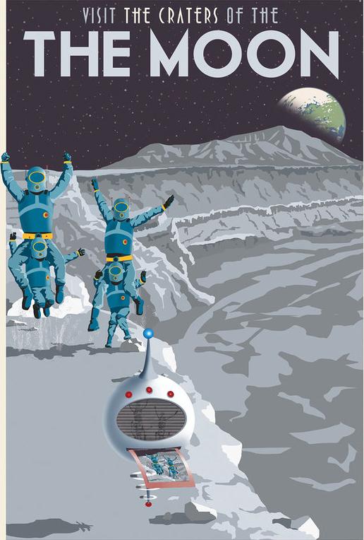 Lembrança: Tirando um selfie na Lua