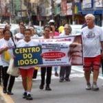Ato nas ruas pede o fim da violência contra quem não pode mais se defender
