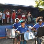 Comemorações pelo aniversário do ECA aconteceram na Praça Sávio Gama (foto: Franciele Bueno)