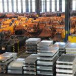 Produção brasileira de aço bruto encerre o ano com um crescimento de 3,8%