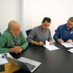 Pelo bem: Parceria foi firmada ontem, no gabinete do prefeito Rodrigo Drable (Foto: Chico de Assis/Ascom PMBM)