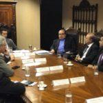 Encontro: Jordão discute com Quintella o financiamento para o aeroporto de Angra dos Reis
