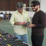 Boas novas: Óculos foram entregues para 600 pessoas em dia de boa notícia para educação (Foto: Lilia Silva)
