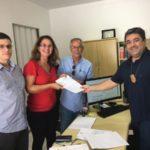 Foto: Divulgação/Ascom PMAR Oficial: Parceria foi firmada nesta segunda-feira, entre a prefeitura, a Polícia Federal e o Shopping Piratas, onde funcionará o posto da PF