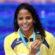 Etiene Medeiros conquista ouro inédito no Mundial de Natação