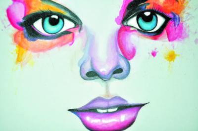 Arte: Produções são feitas em tinta acrílica sobre tela e grafite sobre papel com técnicas mistas (Fotos: Divulgação)