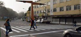 Prefeitura de Resende inicia sinalização de plataformas e faixas de pedestre