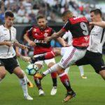 Flamengo e Corinthians fizeram um grande jogo como já era esperado