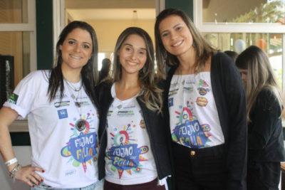 As empresárias Thayana Campos, Debora Ferreira e Camila Montan