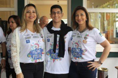 Luciana Miranda, Gustavo Miranda e Alessandra Miranda