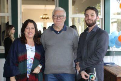Rosane Monerat, Hudson Blazuti e João Victor Monerat