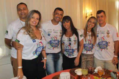 Sidnei Teixeira e Regiane Teixeira, Marcos Martins e Rosane Faria, Thadeu Siqueira e Fabiane Soares