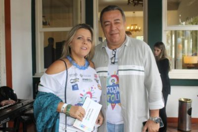 Júnior Dornelas e  Simone Peixoto