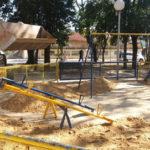 Espaço de lazer: Praça fica no Centro e terá neste sábado o Festival de Férias Brincando com o Quati (Foto: Divulgação/Ascom PMQ)