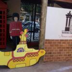 História: Réplica do Submarino Amarelo (Yellow Subamarine) será exposta no salão nobre do clube