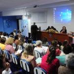 Discussão: Ponto alto do evento ficou por conta dos depoimentos de pessoas que lidam no dia a dia com idosos (Foto: Paulo Dimas)