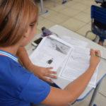 Dedicação: Alguns alunos ampliam suas cargas horárias de estudos e passam a se dedicar ainda na preparação para o Enem (Foto: Suami Dias/ GOVBA)