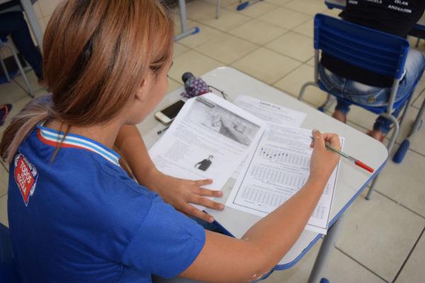 Mudança: Em 2018, o estudantes terão mais 30 minutos para fazer prova de exatas.