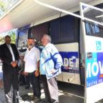 Na Japuíba: Unidade móvel do IPEM ficará em Angra até esta quarta-feira, dia 26, das das 9h às 16h (Foto: Ascom PMAR/Wagner Gusmão)