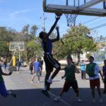 Esporte: Basquete 3 X 3 foi uma das opções de lazer na Praça Pandiá Calógeras