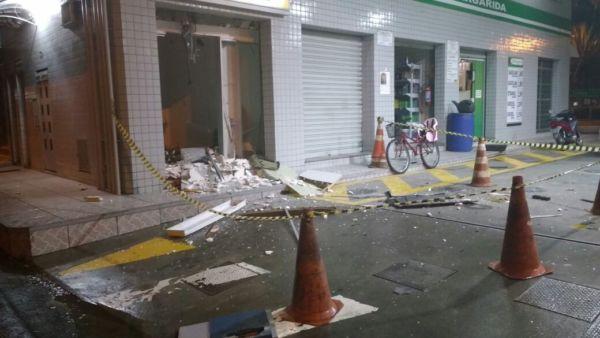 Explosões: Nem as cidades do interior estão livres dos ataques (Foto: Arquivo)
