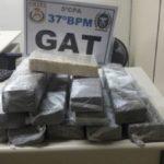 Droga foi apreendida por policiais militares em Resende (foto: Cedida pela PM)