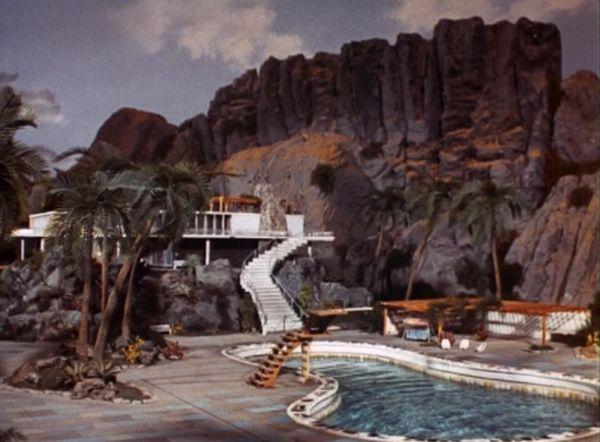 Villa: E a casa na cratera