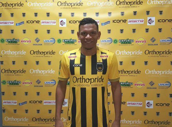 Novidade: Euller foi contratado por empréstimo junto ao Fluminense para a disputa da Série C (Foto:Divulgação/Fair Play Assessoria de Imprensa)