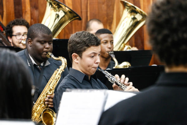 Música nas Escolas: Todos os grupos formados pelo projeto participarão do festival (Fotos: Divulgação)