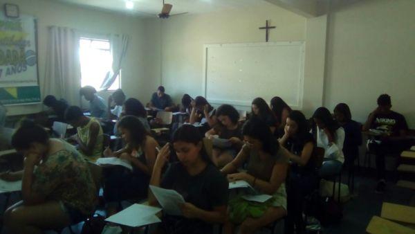 MEP: Simulado contou com a participação de 41 alunos do Pré-Vestibular Cidadão (Foto: Divulgação)
