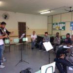Intercâmbio cultural: Além das atividades artísticas, oficinas pedagógicas promoveram o contato direto entre os participantes (Foto: Divulgação)