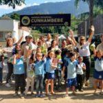 Ecológicos: Alunos das escolas municipais Vale do Sahy, de Mangaratiba, e Nossa Senhora das Graças, de Muriqui, participaram da trilha (Foto: Divulgação)