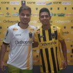 Igor e Rafael Pernão já foram apresentados e treinam com os companheiros