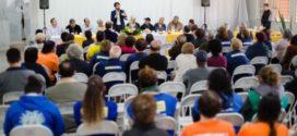 Samuca fala sobre ações do seu governo durante visita ao bairro Jardim Ponte Alta