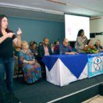 Inclusão social: Vice-prefeita Fátima Lima participou do fórum realizado no auditório do UBM (Foto: Chico de Assis/Ascom PMBM)