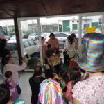 Aniversário: Familiares, amigos e funcionários da Unimed-VR participaram da festa da pequena Catarina (Foto: Divulgação/Unimed-VR)