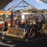 Espaço StartUp, que sediou o Hackaton, foi uma das atrações do estande do UBM na Flumisul (Foto: Divulgação)