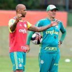 Felipe Melo caiu em desgraça no Palmeiras após saída de Eduardo Baptista