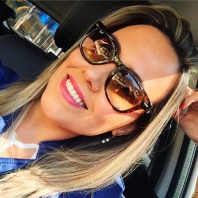 A médica Mariana Nader, aniversariante do dia