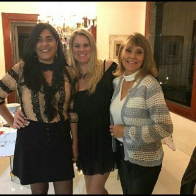 Denise Couri Moscon, Ana Lúcia Milioni Moscon e Aparecida Moscon Torturella