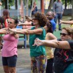 Terceira Idade Ativa: Atividade voltada para a terceira idade acontece nesta sexta-feira, dia 1º, no Parque Tobogã, em Resende (Foto: Jenny Faulstich/Ascom PMR)