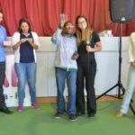 Festa: Inauguração contou com a presença de alunos da Apae-VR (Foto: Divulgação)