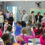 De perto: Prefeito esteve nas escolas municipais Amazonas e Roraima e solicitou visita de técnicos do IPPU (Foto: Gabriel Borges/Secom VR)