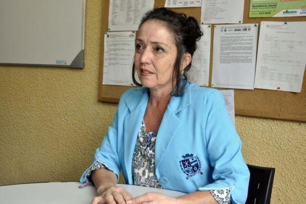 Ruth Coutinho: 'Ao invés de dar dinheiro, a população pode orientar esses moradores que procurem o Centro Pop', disse secretária (Foto: Paulo Dimas/Ascom PMBM)