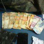 Suspeito foi preso perto de uma escola no Centro de Barra Mansa (foto: Cedida pela PM)