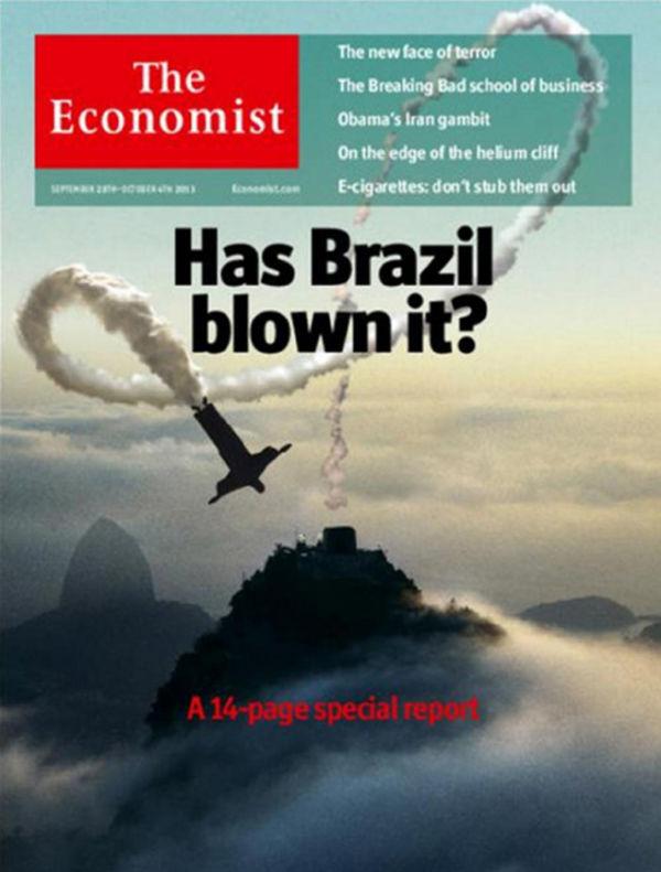 The Economist: A queda do foguete brasileiro