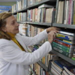 Celebrando: Público pode conferir até sexta-feira uma mostra de álbuns que contam a história da biblioteca (Foto: Divulgação)