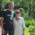 Turistas: Eloise e o marido Maxwell em foto publicada numa rede social (Foto: Reprodução Facebook)